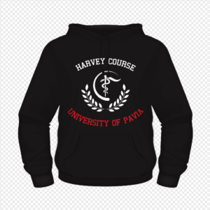 Harvey Hoodie – College Design (Curved)