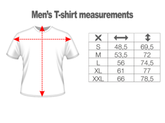 T-shirt Design #1 – Men